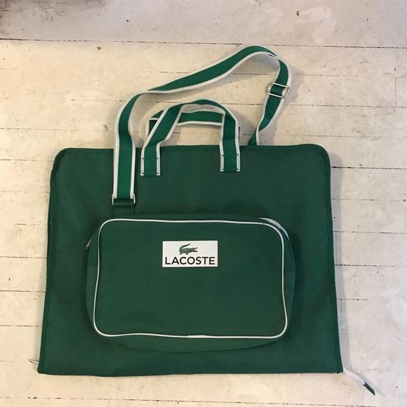 581478667c Lacoste Handbags - NWOT lacoste garment bag